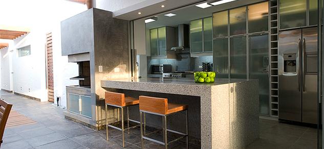 Obras de arquitectura for Parrillas para casas modernas